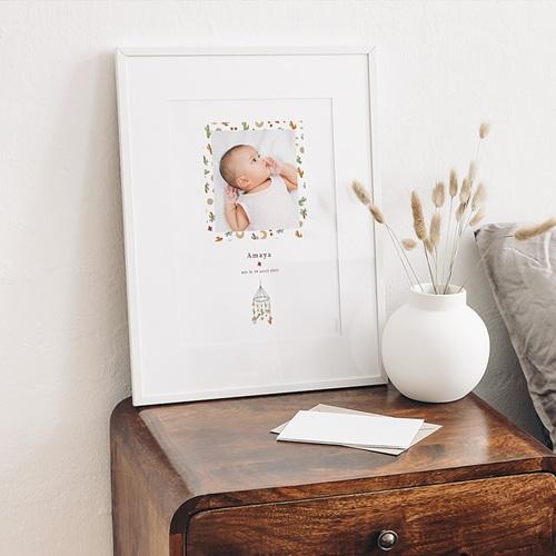 Affiches Mobile Désert en Folie, Poster Chambre d'Enfant, 30 x 40 cm gratuit