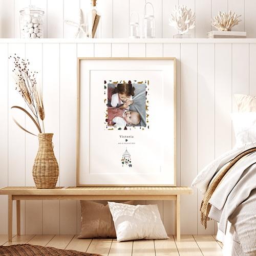 Affiches Mobile Joli Safari, Affiche Chambre d'Enfant, 30 x 40 cm pas cher
