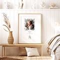 Affiches Mobile Forêt enchantée, Affiche Chambre d'Enfant, 30 x 40 cm pas cher