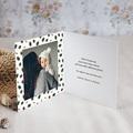 Carte Remerciement Naissance Garçon Forêt enchantée, Photo, 9.5 x 9.5 cm pas cher