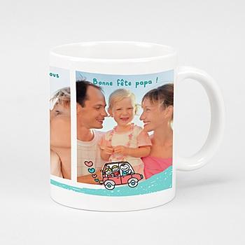 Mug Fête des Pêres personnalisable