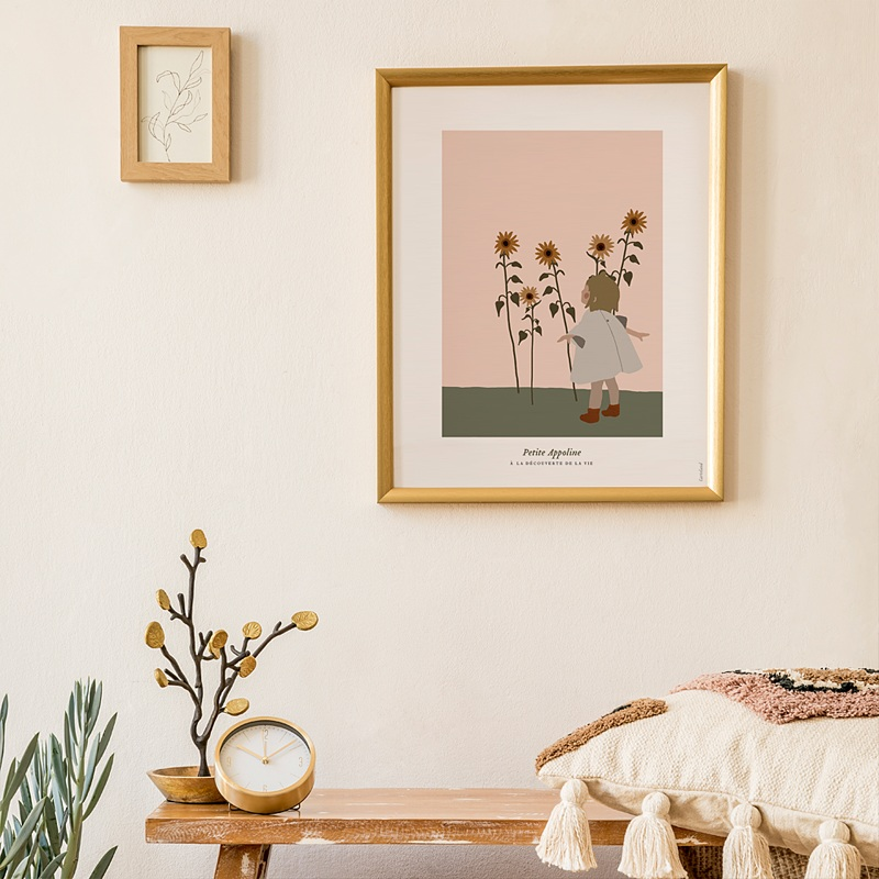 Affiches Le monde de Appoline, 30 cm x 40 cm
