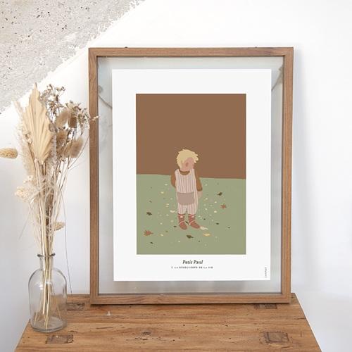 Affiches Le monde selon Paul, 30 x 40 cm