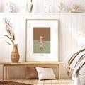 Affiches Le monde selon Paul, 30 x 40 cm pas cher