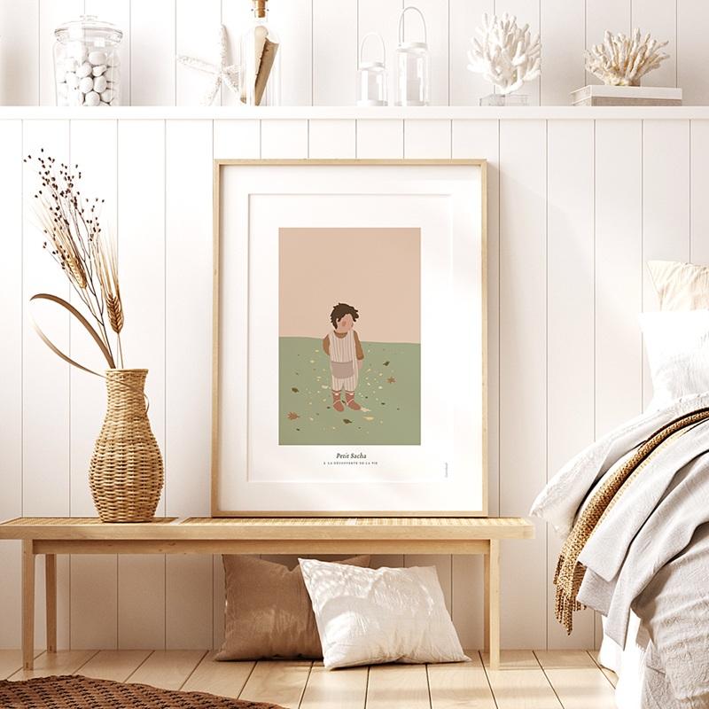 Affiches Le monde de Sacha, 30 cm x 40 cm pas cher