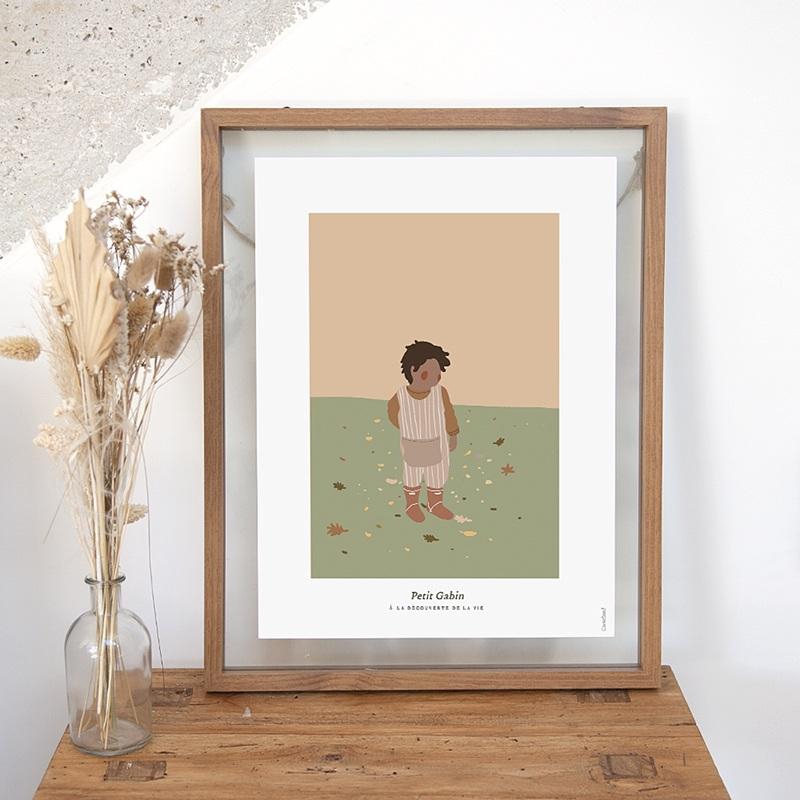 Affiches Le monde de Gabin, 30 cm x 40 cm