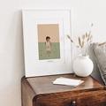 Affiches Le monde de Gabin, 30 cm x 40 cm gratuit