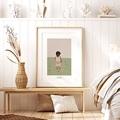 Affiches Léon découvre le monde, 30 x 40 cm pas cher