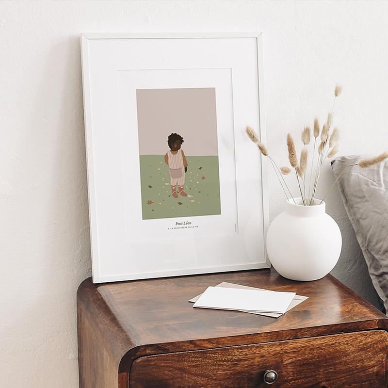 Affiches Léon découvre le monde, 30 x 40 cm gratuit