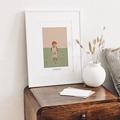 Affiches Emmanuel découvre la vie, 30 x 40 cm gratuit