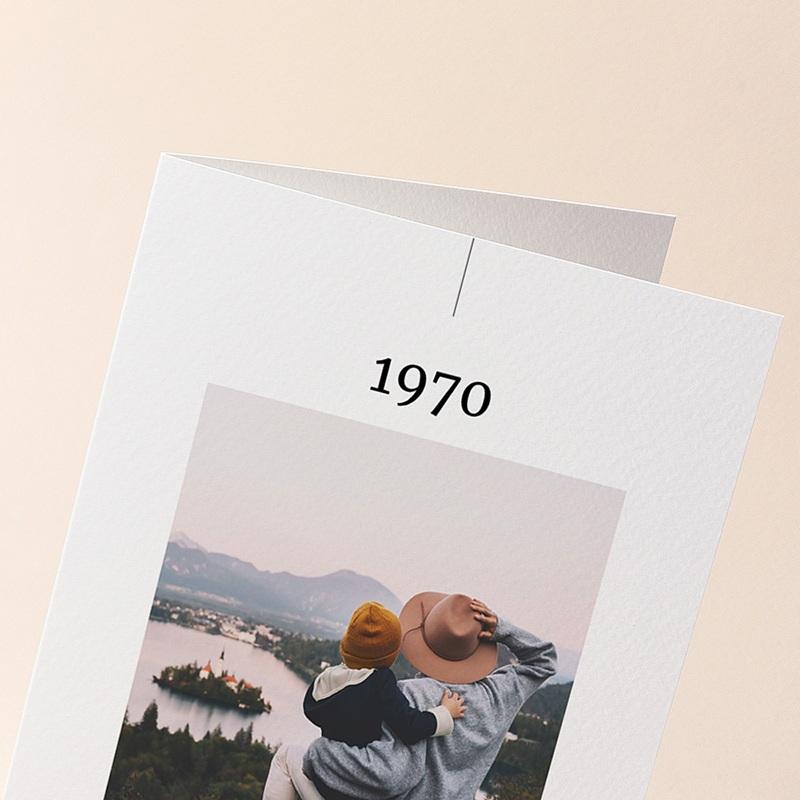 Carte de Voeux Nouveau Départ, 4 photos, 2 volets gratuit