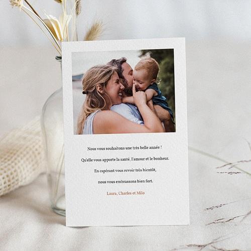 Carte de Voeux Cheminée de Noël, Enfant & Photo pas cher