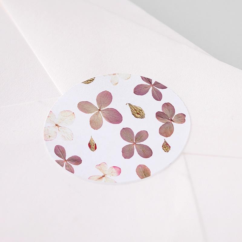 Etiquette Autocollante Naissance Herbier du Bonheur, Sticker pas cher