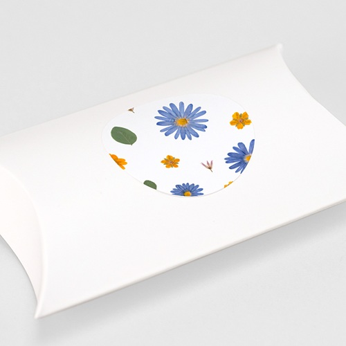 Etiquette Autocollante Naissance Herbier Sérénité, Sticker gratuit