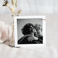 Save The Date Mariage Abstrait, couleurs automnales, 10 x 10 cm pas cher