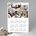 Calendrier photo monopage 2020 personnalisé Enguirlandé - A3