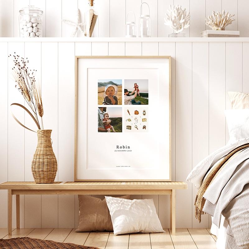 Affiche Chambre Enfant Le Petit Prince Le Petit Prince explorateur, 3 photos, 30 x 40 pas cher
