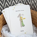 Carte Etape Bébé Le Petit Prince Les progrès du Petit Prince, mois par mois