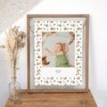 Affiche Chambre Enfant Le Petit Prince Portrait du Petit Prince, Motif Renard, 30 x 40