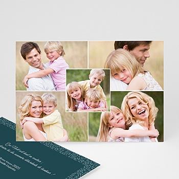 Créer soi même cartes multi-photos 3 et + 5 photos - bonheur