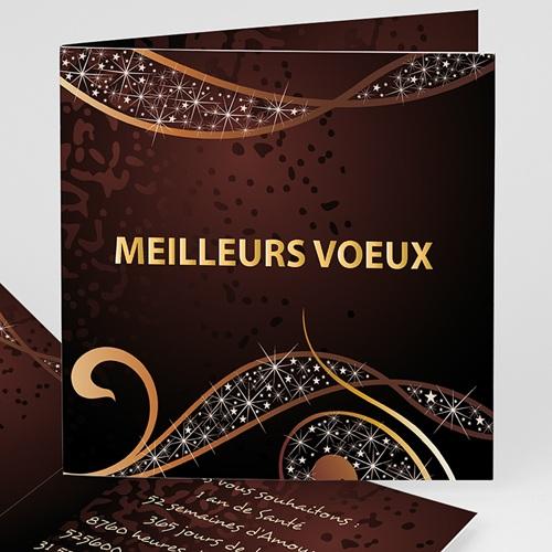 Carte de Voeux 2019 - Féerie Marron 9556 thumb