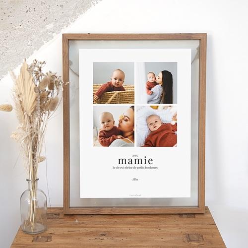 Affiches Ma Mamie, elle est