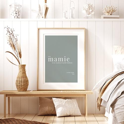 Affiches Avec Mamie, la vie est... pas cher