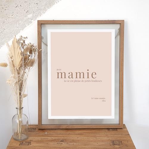 Affiches Petits bonheurs avec Mamie