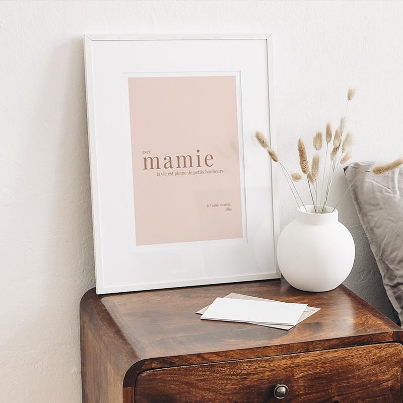 Affiches Petits bonheurs avec Mamie gratuit