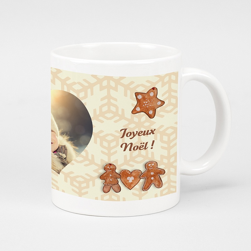 mug personnalis pains d 39 pices de no l. Black Bedroom Furniture Sets. Home Design Ideas
