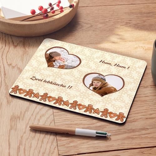 Tapis de souris personnalisé - Pains d'épices de Noël 9588