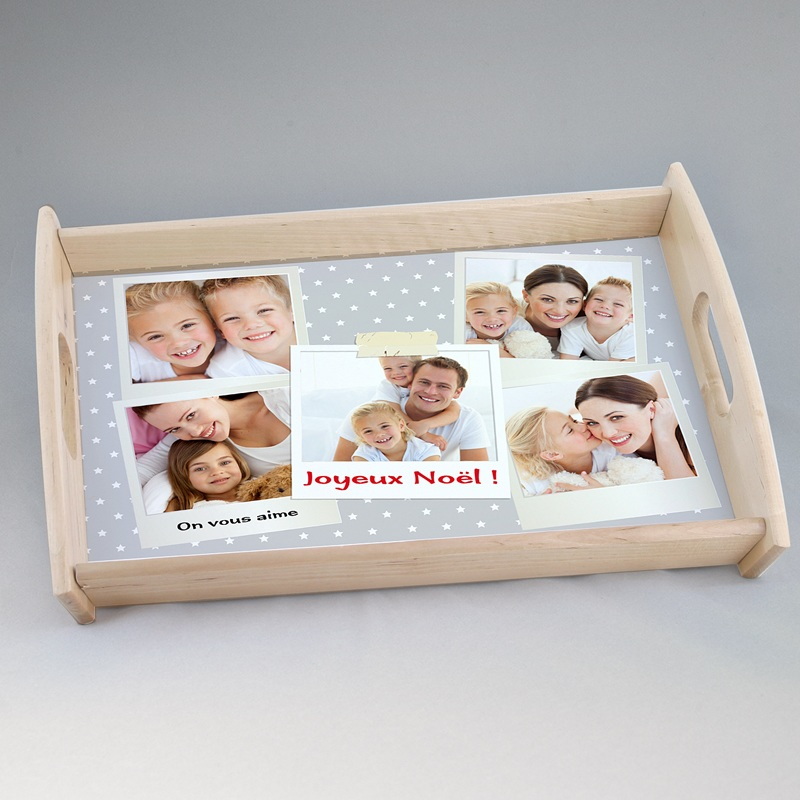 plateau personnalis avec photo grand format. Black Bedroom Furniture Sets. Home Design Ideas