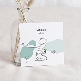 Carte Remerciement Naissance Le Petit Prince - Découvertes d'un petit prince, 10 x 10 cm - 0