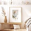 Affiche Chambre Enfant Le Petit Prince Le Petit Prince aventurier, portrait pas cher