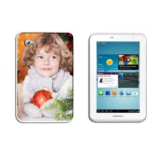Coque Iphone 4/4s personnalisé - Coque Galaxy Tab 3100 - Blanche 9614
