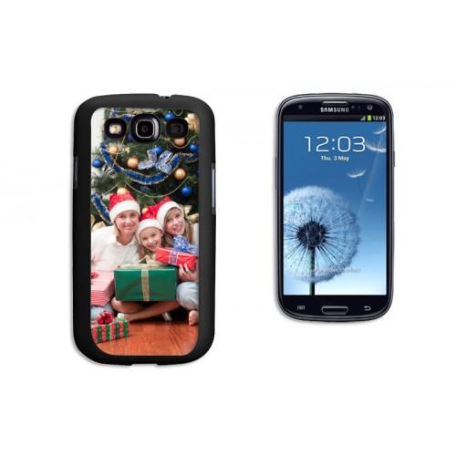 Coque Iphone 4/4s personnalisé - Coque Samsung Galaxy S3 - Noire 9622 thumb
