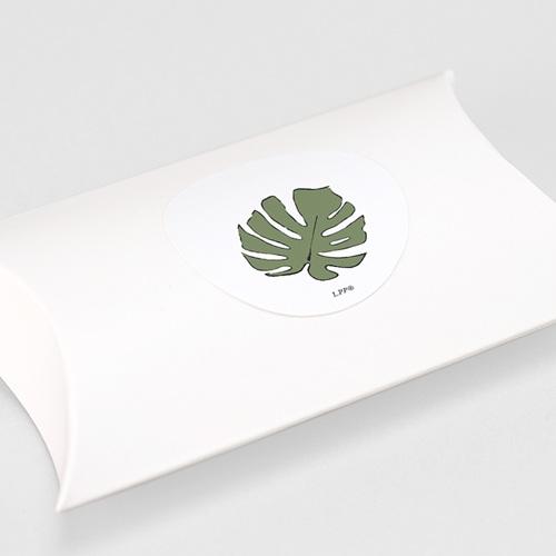 Etiquette Autocollante Naissance Sous les tropiques, 4,5 cm gratuit