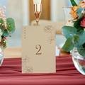 Marque Table Mariage Pivoine en silhouette, Lot de 3 gratuit