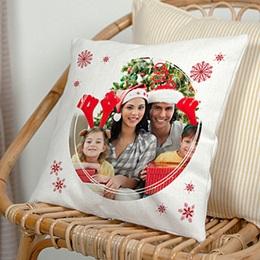 Coussin Cadeaux Coussin personnalisé Noël