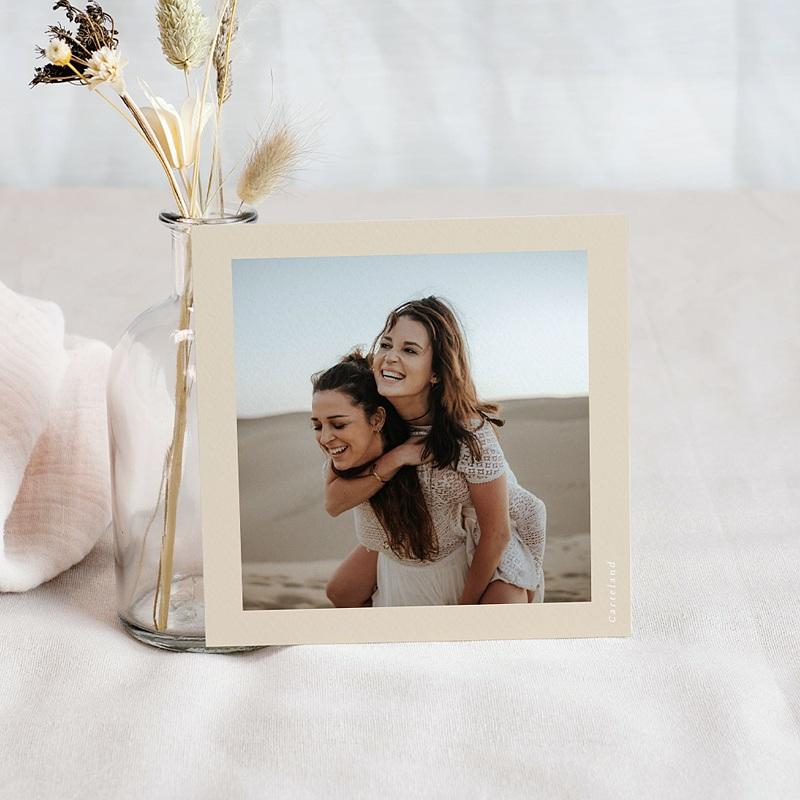 Save The Date Mariage Silhouette Fleurs des Champs, D-Day pas cher