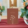 Marque Table Mariage Silhouette Fleurs des Champs, Lot de 3 gratuit