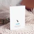 Faire-Part Naissance UNICEF Renard Polaire, 2 volets gratuit