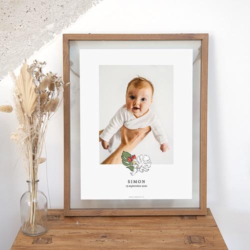 Affiche Chambre Enfant Le Petit Prince Sous les tropiques, Portrait
