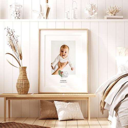Affiche Chambre Enfant Le Petit Prince Sous les tropiques, Portrait pas cher