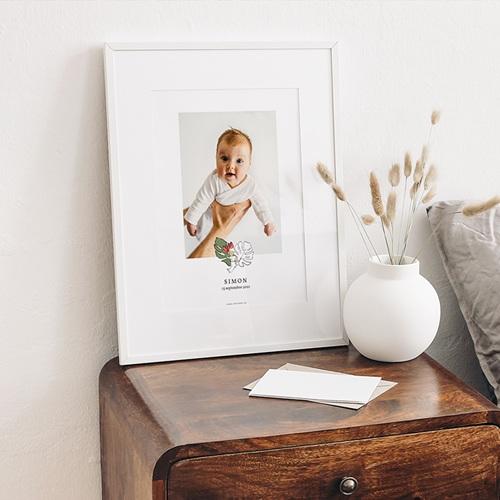 Affiche Chambre Enfant Le Petit Prince Sous les tropiques, Portrait gratuit