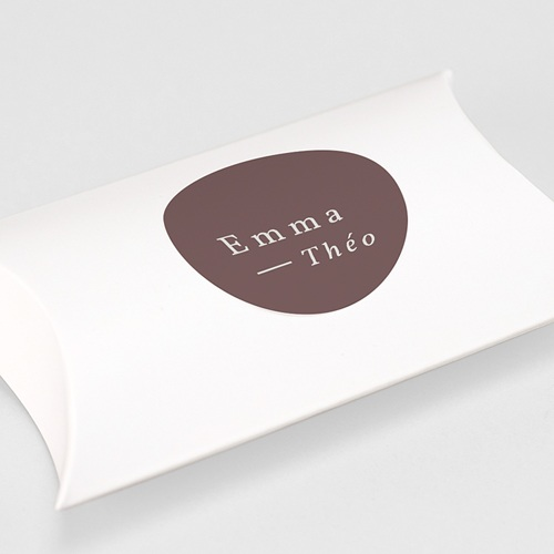 Etiquette Autocollante Mariage Lys en Silhouette, 4,5 cm gratuit