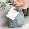 Marque Table Mariage Bouquet Fleurs Rouges, Invité gratuit