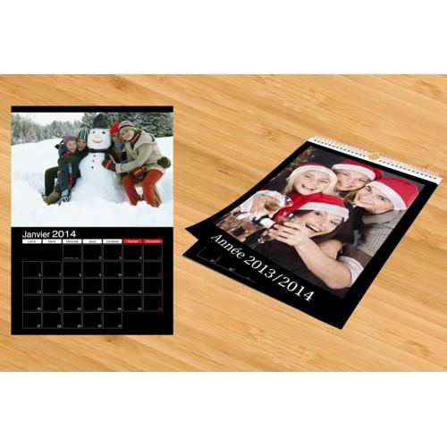 Calendrier Photo 2018 - Calendrier A4 noir ou sombre 9713