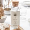 Etiquette Bouteille Mariage Boho palmier, Beige, Vin gratuit