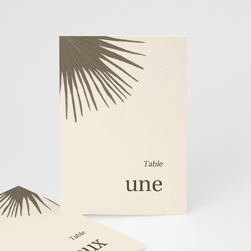 Marque Table Mariage Boho palmier, Repères de table (lot de 3)